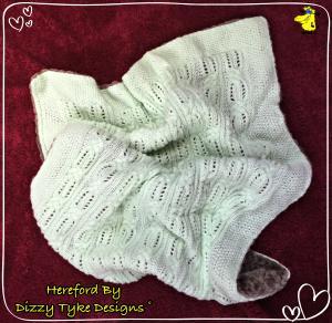 Hereford Baby Blanket